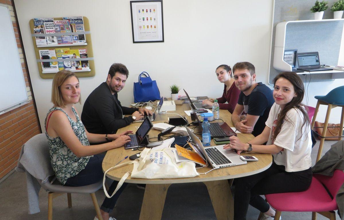 L'équipe de SmartRenting à Lyon  – 20 Minutes
