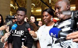 Mamoudou Gassama le 29 mai 2018.