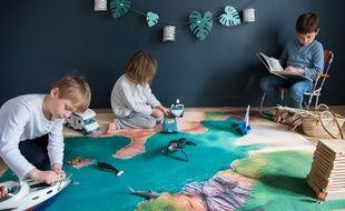 Les tapis Carpeto se déclinent en cinq univers thématiques.