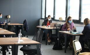 L'espace de coworking Startway, au Haillan (Gironde)
