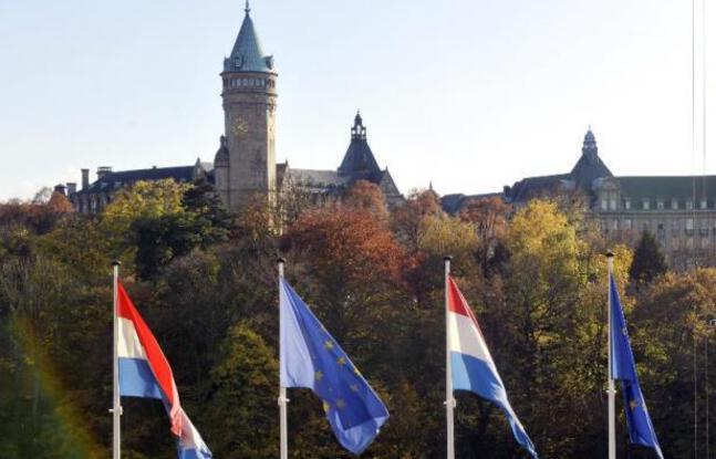 648x415 drapeaux europeens centre ville luxembourg 23 octobre 2008