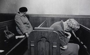 Todmorden, Mankinholes Methodist Chapel. 1975 by Martin Parr