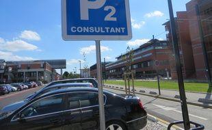 Les parkings de l'hoîtal Purpan devriendront payants à partir de la fin du mois d'octobre 2017.