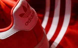 Illustration de chausse de la marque Adidas