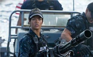 Rihanna dans Battleship, en salles le 11 avril 2012.