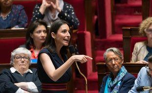 Brune Poirson le 29 mai 2018 à l'Assemblée nationale.