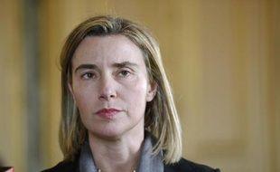 La chef de la diplomatie de l'Union européenne Federica Mogherini à Paris, le 7 mars 2015