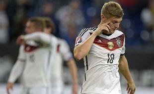 Toni Kroos lors du match entre l'Allemagne et l'Irlande 14 octobre 2014.