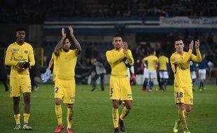 Les Parisiens ont gagné à Strasbourg en marquant quatre buts en huitièmes de finale de la Coupe de la Ligue mais en encaissant tout de même deux buts.
