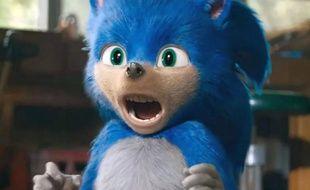 Sonic découvre son look dans le film qui lui est consacré, et ça ne va pas le faire