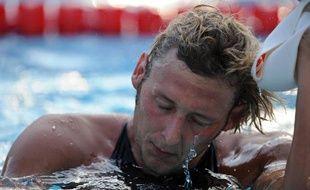 Le nageur français Amaury Leveaux, lors des championnats du monde de natation de Rome, le 1er août 2009.