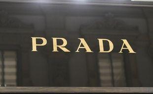 Une boutique Prada (illustration).