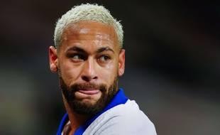 Neymar lors de Manchester United-PSG en Ligue des champions, le 2 décembre 2020.