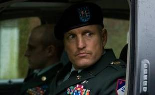 "Ben Foster et Woody Harrelson dans le film ""The Messenger"""