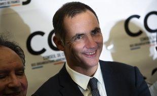 Gilles Simeoni est président de la Corse