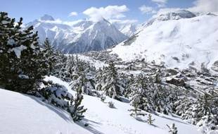 Illustration de la station de ski des 2 Alpes.