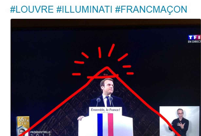 Des internautes s'interrogent sur le choix du lieu pour fêter sa victoire d'Emmanuel Macron.