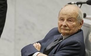 Jacques Servier au tribunal de Nanterre le 21 mai 2013.