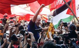 L'ex-président brésilien Lula a accepté de se livrer à la justice, le 7 avril 2018.