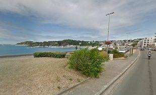 La commune d'Erquy, en Bretagne.