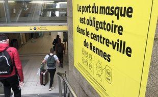 Le port du masque reste obligatoire à Rennes et dans toute l'Ille-et-Vilaine.