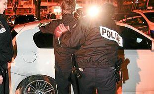 Un contrôle de police (illustration).