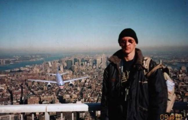 Le photomontage devenu viral après le 11 septembre 2001.