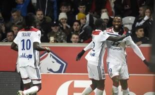 Moussa Dembélé a inscrit le but égalisateur de Lyon à Lille.