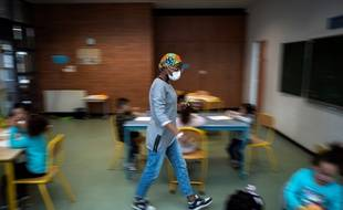 Dans une école toulousaine dans le quartier de Borderouge.