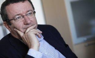 Le député socialiste de la Nièvre Christian Paul, le 9 mars 2010.