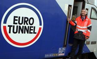 Jacques Gounon, PDG du groupe Eurotunnel.