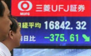 Les bourses asiatiques dans la tourmente