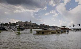 Le Danube a atteint un niveau record de 8,83 m à Budapest, dimanche à 05H00 GMT, alors que les digues de protection sur l'ensemble du fleuve en Hongrie tenaient bon et que le pic de la crue dans la capitale est maintenant attendu pour dimanche en fin d'après-midi, vers 16H00 GMT, au lieu de lundi à l'aube, comme prévu jusqu'à présent.