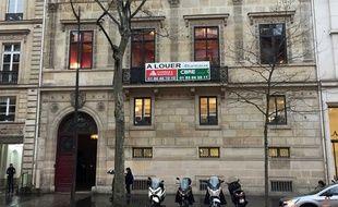 L'Hotel de Pourtales, rue Tronchet à Paris, où Kim Kardashian a été braquée en 2016.