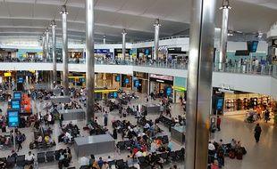 L'aéroport de Londres Heathrow.