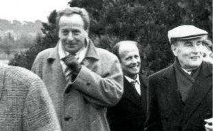 Gérard Colé et Jacques Pilhan, les conseillers de l'ombre aux côtés de François Mitterrand.