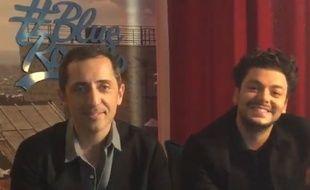 Gad Elmaleh et Kev Adams joueront un spectacle commun en 2016.