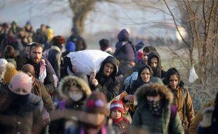 Les migrants affluent en Grèce
