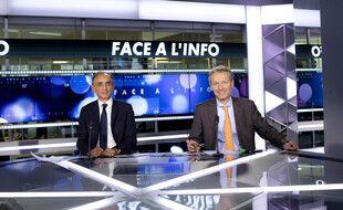 Eric Zemmour et Eric de Riedmatten dans « Face à l'info » sur CNews.