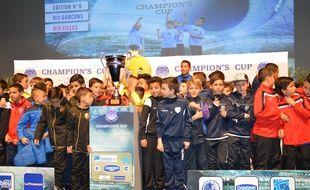Des futurs participants de la Champion's Cup 2015.