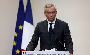 Bruno Le Maire est le ministre de l'Economie depuis mai 2017.