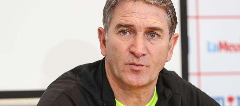 Philippe Montanier, nouvel entraîneur du TFC.