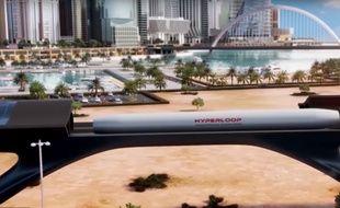 HyperloopTT veut relier Dubaï à Abu Dhabi (capture d'écran HyperloopTT)