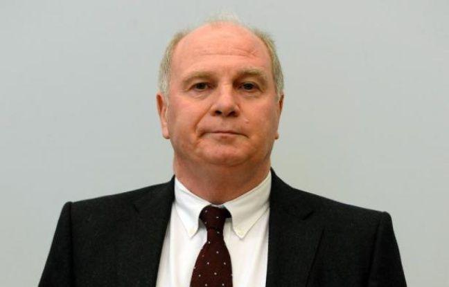Le président du Bayern Munich, Uli Hoeness, le 13 mars 2014 au tribunal régional de Munich