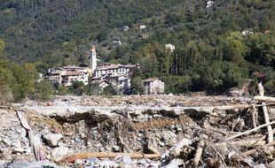 La maison du couple a été emportée par les flots en furie de la Vésubie, dans le village de Roquebillière