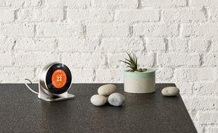 Le thermostat connecté de la firme Nest.