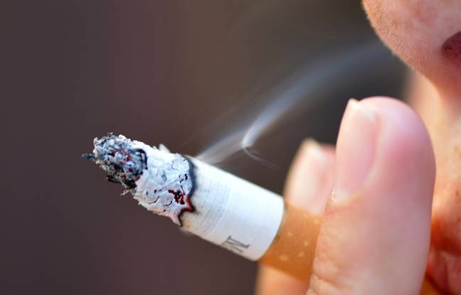 Illustration cigarette