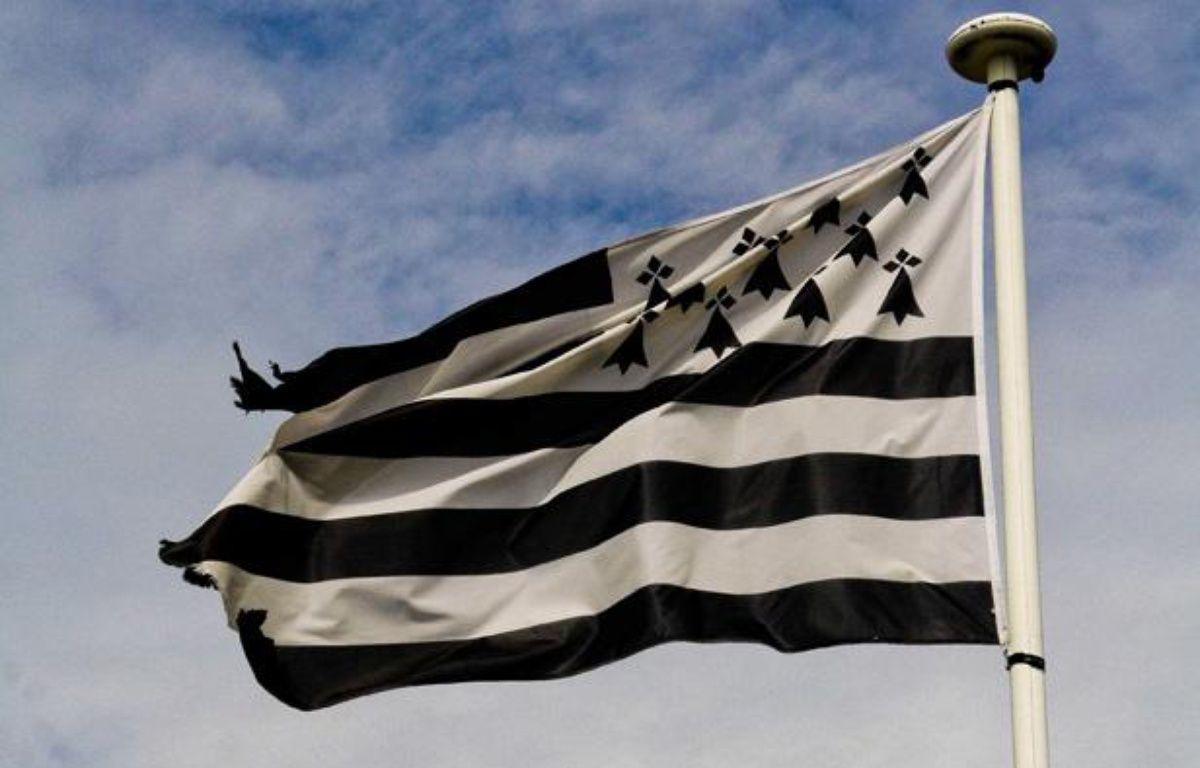 Illustration: Un drapeau breton. – GILE MICHEL/SIPA
