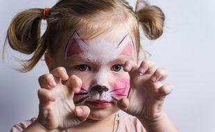 Les coffrets de maquillage pour enfants contiendraient des substances dangereuses (illustration).