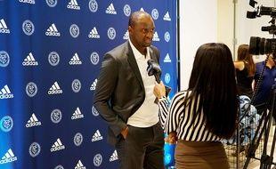 Patrick Vieira, ici lors d'une interview en août en tant qu'entraîneur du New York City FC